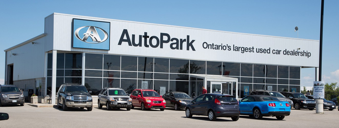 Used car dealership AutoPark Barrie