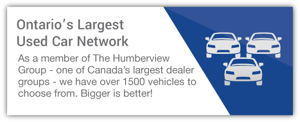 Used car dealership large inventory network